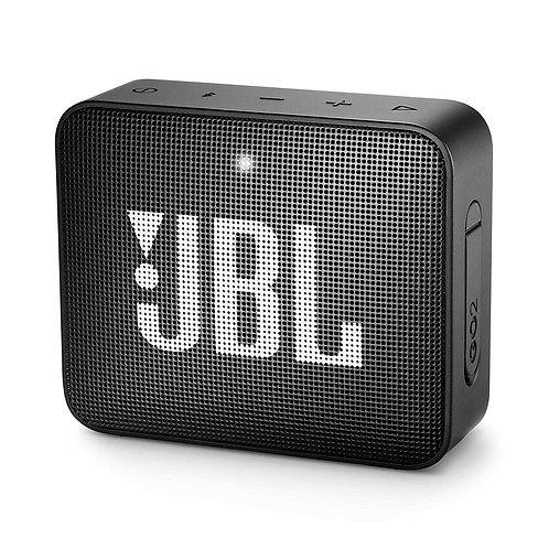 JBL GO 2 Portable Bluetooth Waterproof Speaker - Black