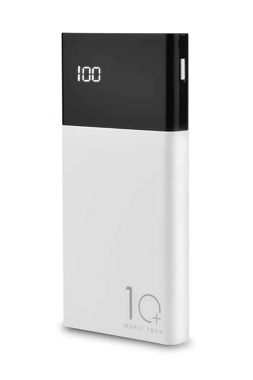 Morui 10000mAh Li-Polymer Power Bank (White/Black)
