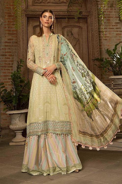 Unstitched Fabrics/Lawn D-608