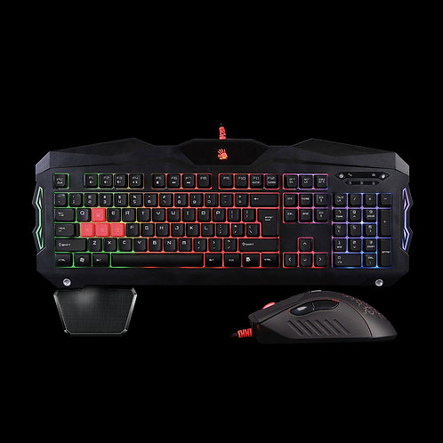 BLOODY BLAZING GAMING WIRED KEYBOARD+MOUSE SETS B2100