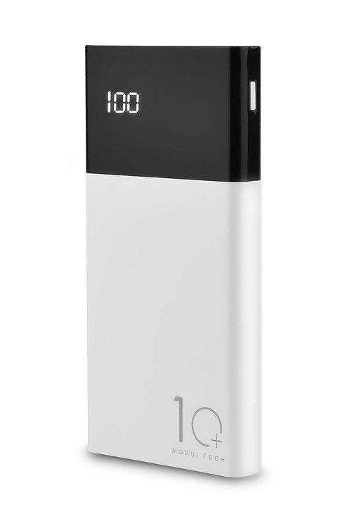 Morui 10000mAh Li-Polymer Power Bank (White/Black)