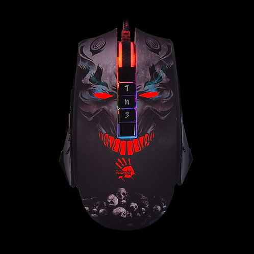 BLOODY ULTRA CORE ACTIVATED LIGHT STRIKE 5K RGB ANIMATION GAMING MOUSE P85