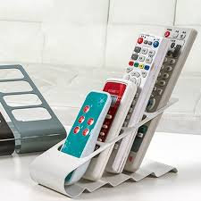 Remote Control Stand Organizer Metal 4 Layers