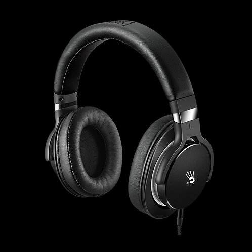 BLOODY GAMING HEADPHONES (ULTIMATE SURROUND SOUND) DYNAMIC HIFI HEADPHONE M550 (