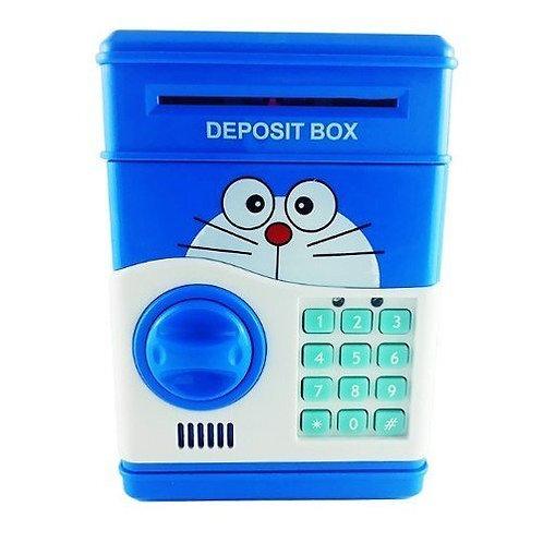 Doraemon Safe with Electronic Lock - Blue