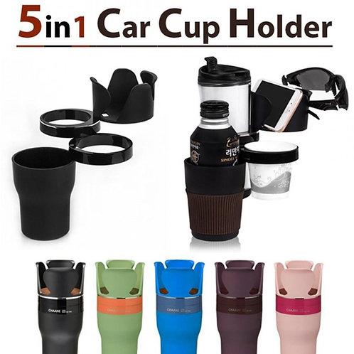 5 in1 Adjustable Car Cup Holder