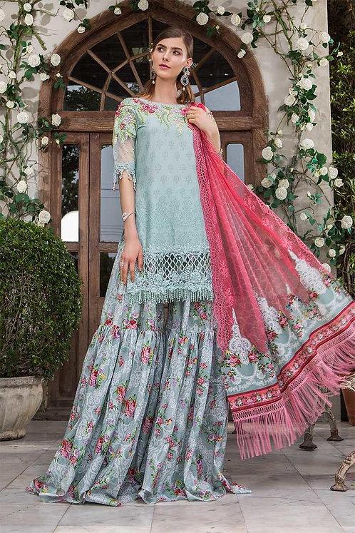 Unstitched Fabrics/Lawn D-601