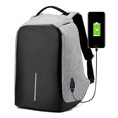 Anti Theft Design Business Travel Laptop Shoulder Bag With Usb Port