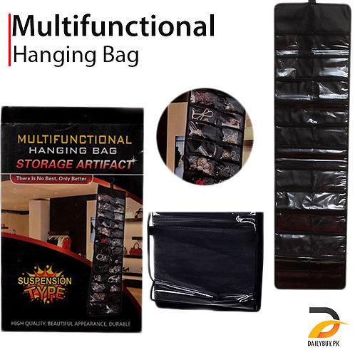 Multi-functional Hanging storage bag - Black