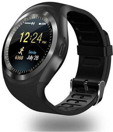 Y-1 Smart Watch Rubber Band For Android,Black - Y1-002