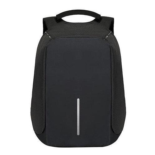 Anti Theft Bag Design Black Backpack With Usb Charging Port