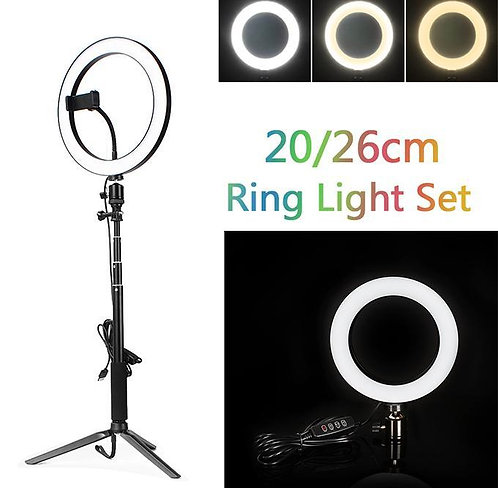 Selfie Ring light 26cm Selfie Ring LED Ring Light for Live stream TikTok Ring Li
