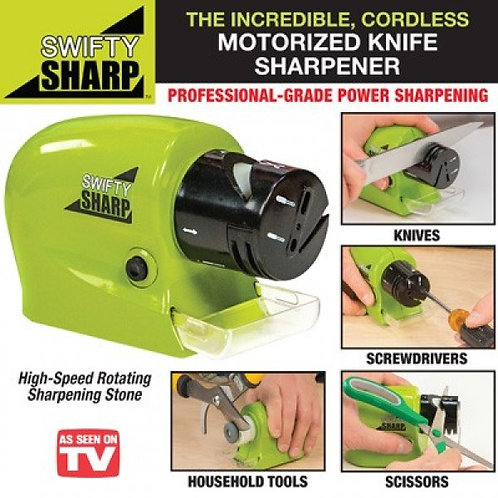 Knife & Scissor Blade Sharpener - Green