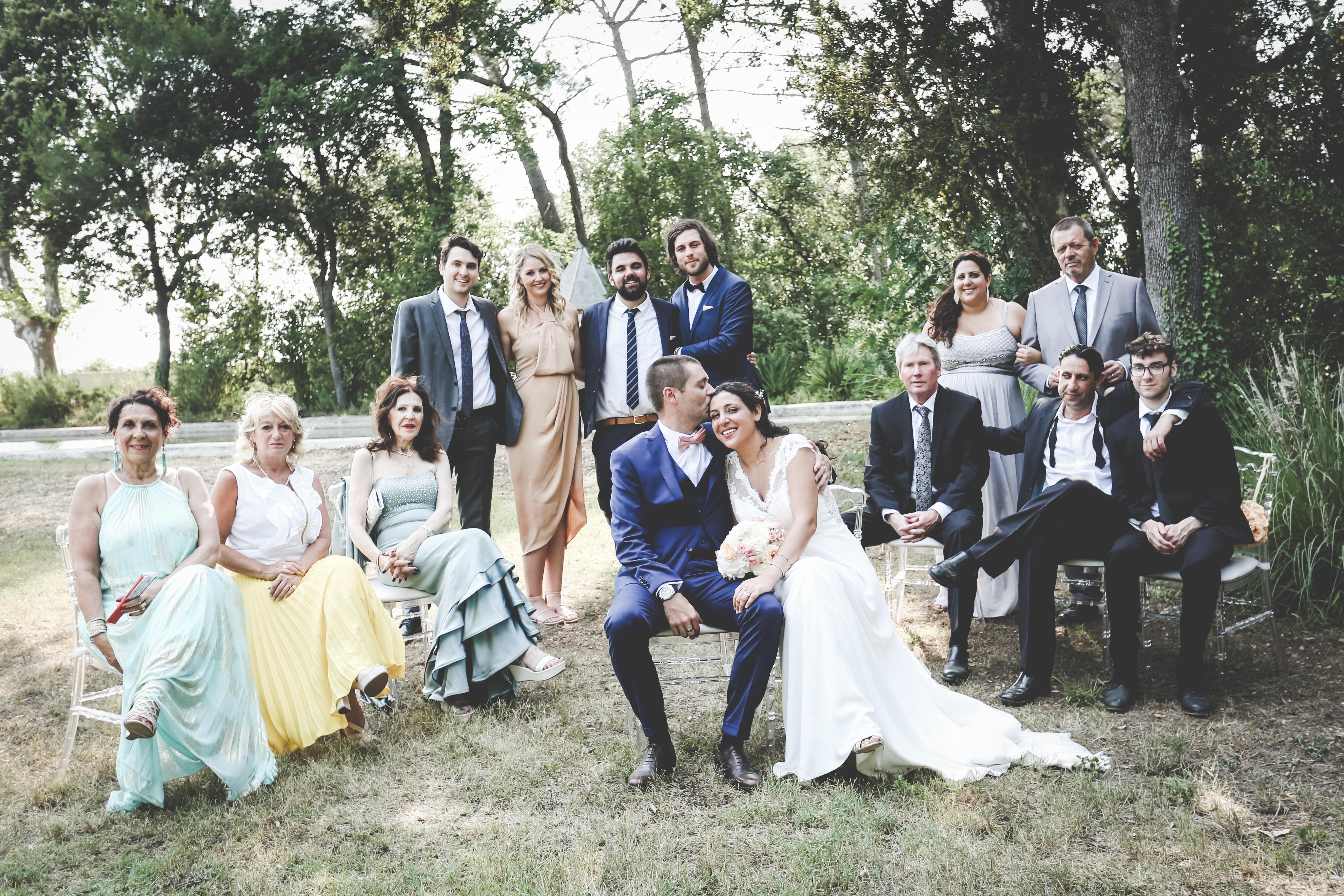 Mariage franco-américain à Roquelune