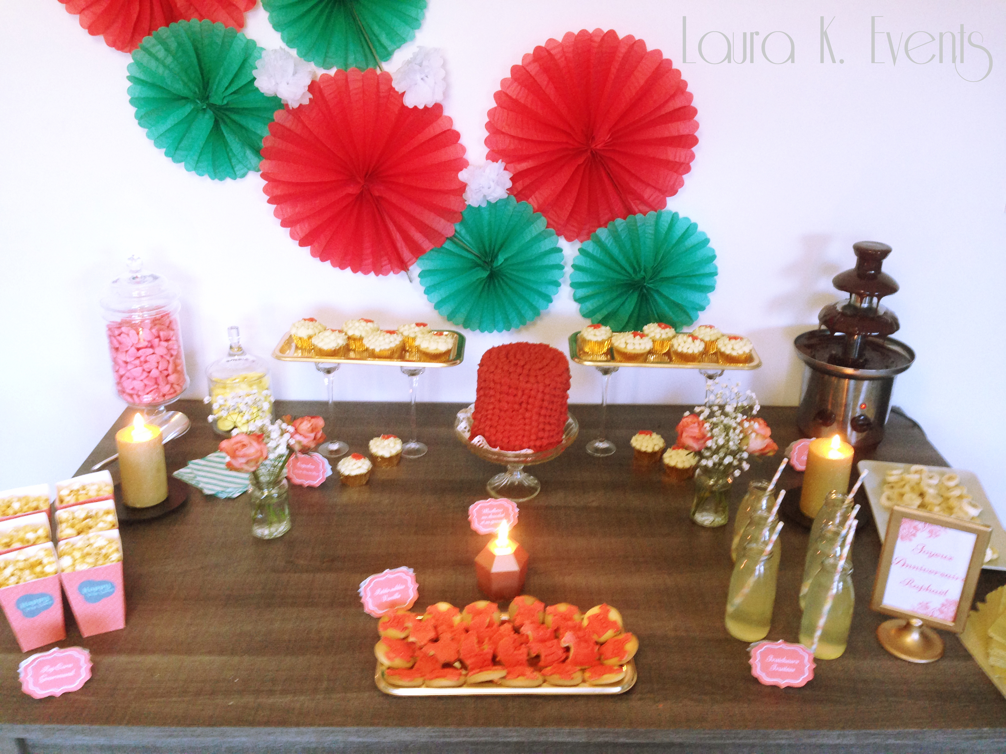 Candy Bar et Sweet Tables