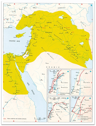 Empire assyrien (8è-7è s. av. J.C.)