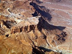Masada aerial from southeast, tb01070330