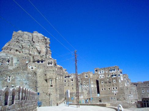 Ville fortersse de Thilla, Yémen du nord