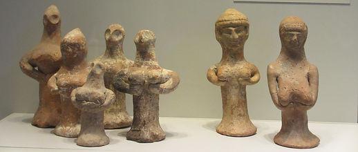 Figurines féimines, Israël 8è-6è s. av. JC