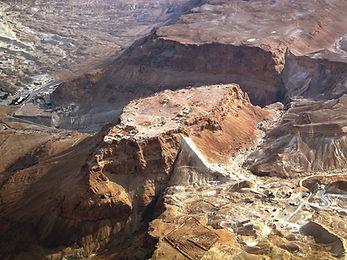 Masada aerial from northwest, tb01070330