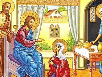 Les amis de Jésus : Marthe, Marie et Lazare