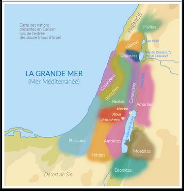 Les nations cananéennes (Archeobiblio)