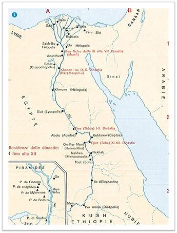 Ancien et Moyen Empire Egyptien -2800-1700 av. J.C.