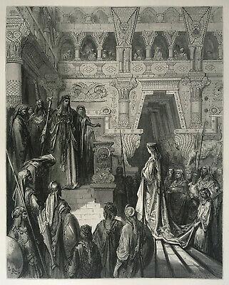 Gustave Doré reine de Saba