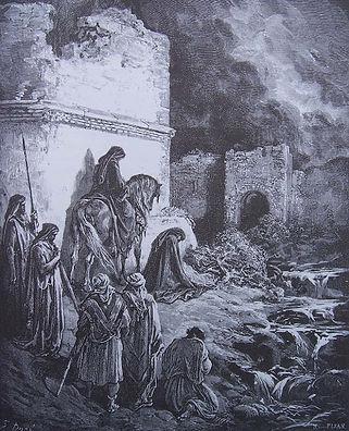 Jérusalem en ruine