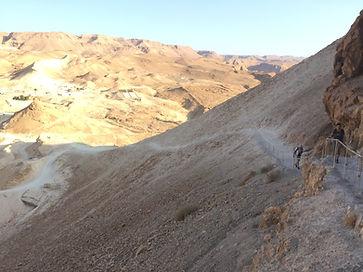 sentier du serpent masada