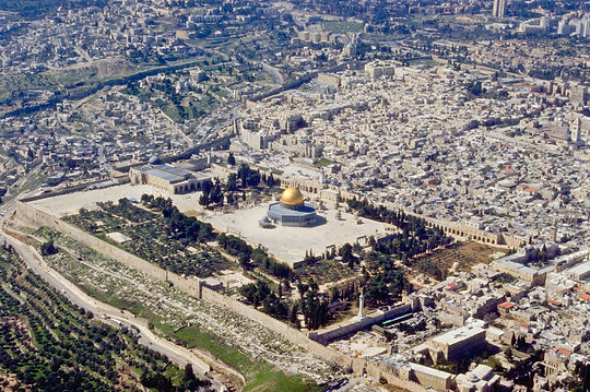 Temple Mount aerial from northeast, bb00