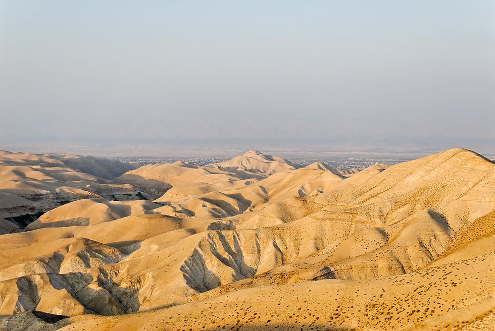 Wadi Qilt and Judean wilderness with Cyp