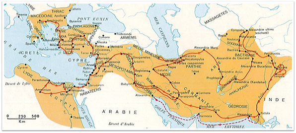 L'empire d'Alexandre le Grand