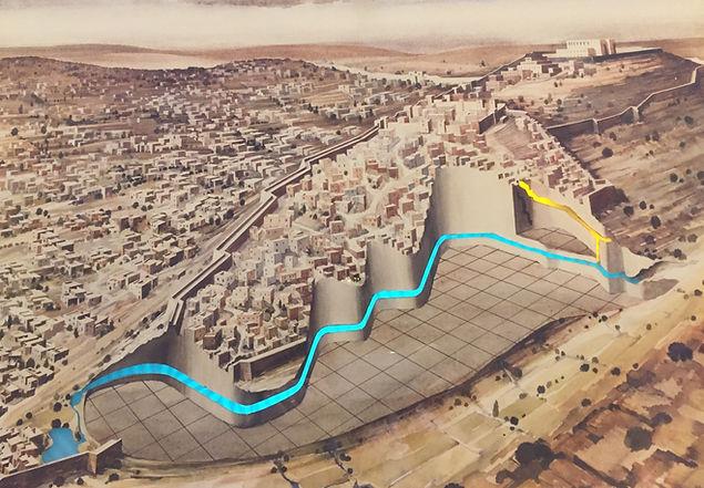 Source du Gihôn et canal