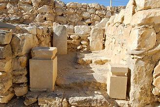 Arad Israelite temple Holy of Holies, tb