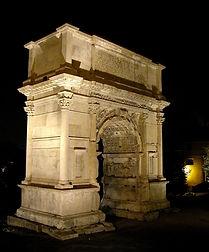 Arch of Titus at night, tb112002216.jpg