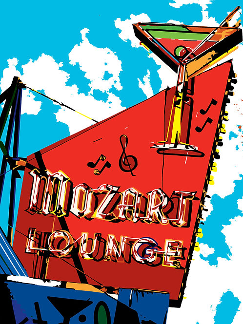 THE MOZART LOUNGE