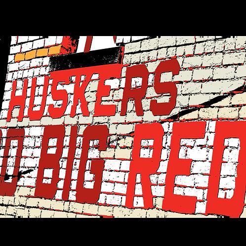HUSKER GO BIG RED