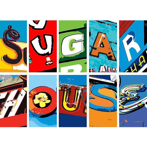 SUGARHOUSE LETTERS