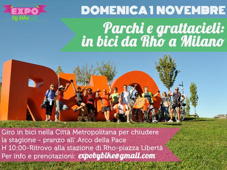 Parchi e grattacieli: in bici da Rho a Milano