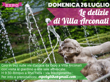 26 luglio: le delizie di Villa Arconati