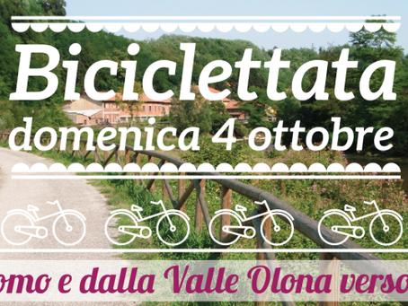 4 ottobre: sulla nuova ciclovia Olona-Lura