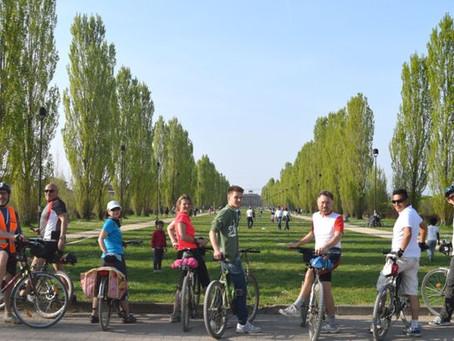 02/10 Ville sul Villoresi e il parco di Monza in bicicletta