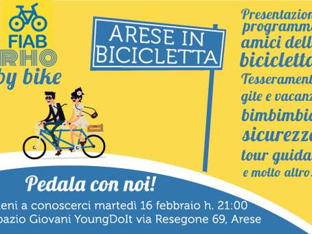 16/02: Arese in Bicicletta con FIAB