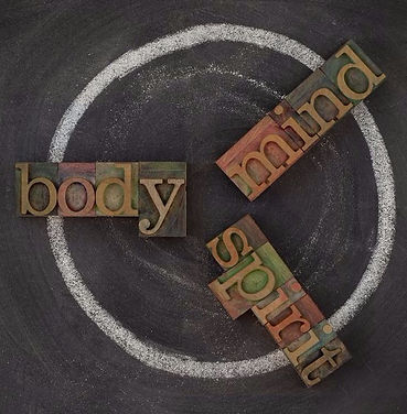 Holistic wellness is about body, mind and spirit.