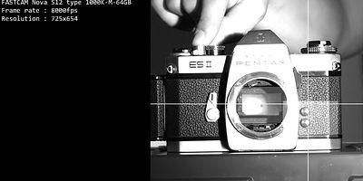 Photron gyorskamera teszt: 8000fps