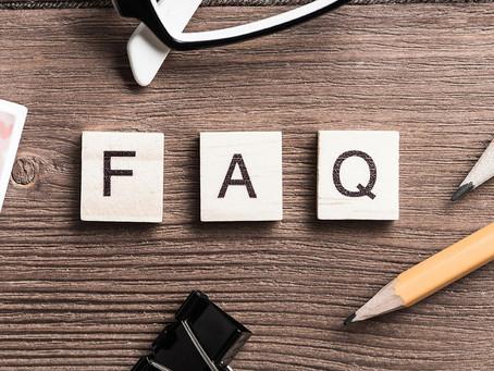 Neu auf dieser Seite - Der FAQ-Bereich