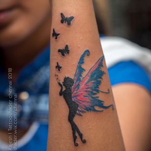Butterfly Fairy Tattoo