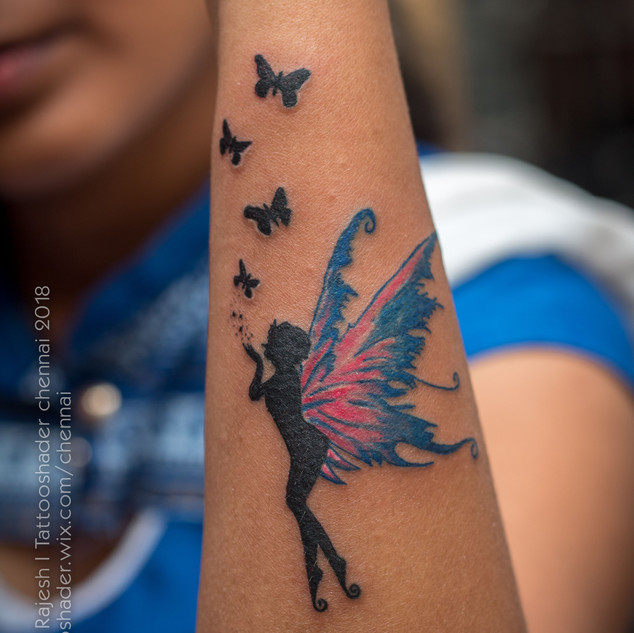 Butterfly Fairy Tattoo