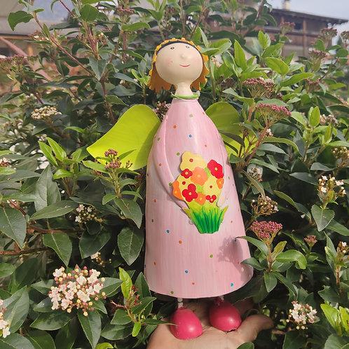 Engel Anna mit Blume
